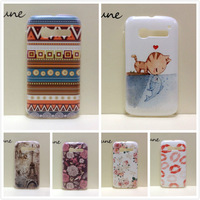 2014 New Painting Hard PC Plastic Phone Case For Alcatel One Touch Pop C5 5036 OT5036 5036D +Screen protector