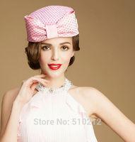 top grade bowknot wedding hats and fascinators party wedding hat veils top hat mini