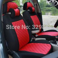 Free shipping new Corolla Toyota Corolla Vios Yaris Reiz car seat cover universal seat covers rav4 Silk