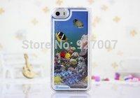 New fashion sea fish oil case for iphone5 5s