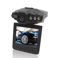 "2.5"" inch TFT LCD screen Portable Car DVR 198 HD Car Vehicle Video Recorder Camera 6 IR LED Night Vision 90 degree View Angle"