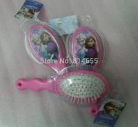 FROZEN Combs Children Girls makeup comb / massage comb Princess Elsa & Anna Hair Care Combs