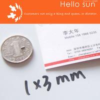 100PCS,Super Powerful Strong Neodymium Disc Magnets DIA 1x3mm  N35 Neodymium Magnet Rare Earth