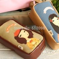 [ New ] stationery pencil caselady,  cocopencil case big capacity , Korean Creative Pencil case, school pencil case big