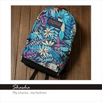 2014 Fashion new JAN SPORT leaf backpack women famous brands shoulder bag men's backpacks girls school bags bolsas cartoon cool