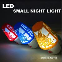 New LED Small Night light  mushroom shape lamp 0.5W 220V bedroom night light  festival ornament Free Shipping