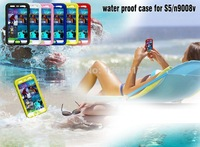 Free shipping !wimming Surfing play an essential cell phone for  Samsung GALAXY S5 i9600 Waterproof Case