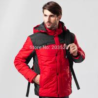 2014 men's winter new men outdoor padded winter coat thicker body of the original single male jacket