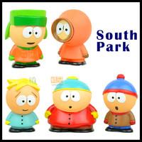 Anime Cartoon South Park The Stick of Truth Kyle Butters Kenny Cartman PVC 5pcs/Lot Kidrobot Action Figures Cartoon Dolls Toys