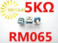 Trimming Potentiometer RM-065 top adjustment RM065 5K Variable Resistors x500PCS