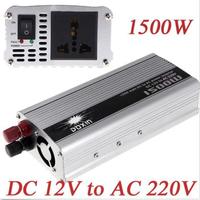 Thanksgiving 1500W Modified Sine Wave Car Boat 12V DC to 110V/220V AC Out Power Inverter