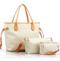2014 arrow women's handbag women's handbag fashion handbag piece set picture package