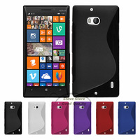 Free shipping High quality S-Style Gel Silicone case for NOKIA Lumia 930 S-line TPU case for 930+Free screen protector