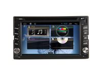 "6.2"" Double 2Din Car Stereo DVD GPS Player Pure Android 4.1 OS+WiFi/3G+GPS+BT+RDS+SWC+iPod, 2din car radios multimedia Stereo"