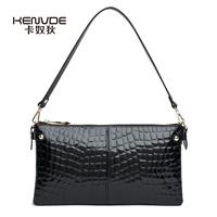 New 2014 UK women's cowhide handbag fashion leopard print lady day clutch bags geniune leather luxury small shoulder bag retail