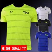 New arrival 2014 Men quick-dry Jerseys Tops & Tees Shirt Sport T-shirts slim fit plus size M-XXL Drop free shipping LSL112