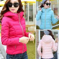 Plus size L,XL,XXL,XXXL 2014 winter high quality down jacket warm down parka overcoat women's winter coat 861