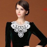 Hot New Fashion Vintage  Lace Necklace False Collar Jewelry 2014 Free Shipping #099