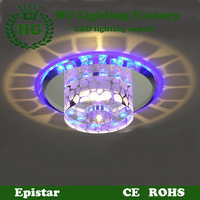 LED crystal ceiling light ,applicable for corridors,porches,hallways and balconies