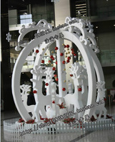 christmas decoration supplies mall/square/hotel/supermaket christmas new year holiday  festival ceremony decoration customized