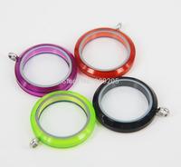 2014 New Arrival Mix Color Acrylic Floating Lockets 4pcs/Lot  AF001-AF004