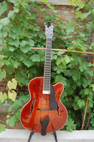 17'' Archaizeed Fully handmade and carved with solid wood yunzhi jazz guitar