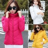 Plus size L,XL,XXL 2014 new winter high quality down jacket warm down parka overcoat women's winter coat 863