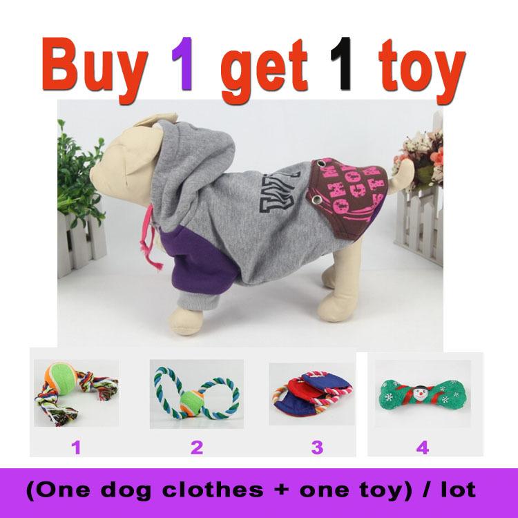 Gray og Clothes Prince Hoodie Sweatshirt sweater coat sizes Small, Medium clothing mascotas dog raincoat winter pet supplies(China (Mainland))