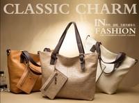 New POLO Brand Fashion Full Genuine Leather Women Shoulder Bag Woman Elegant Office Messenger Bag Vintage Retro Tote Handbag