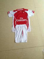 kids children 2014/2015 OZIL 11 PODOLSKI 9 WILSHERE 10 home soccer jerseys football jerseys for children youth embroidery logo