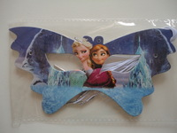 Frozen movie children girls happy birthday Party decoration kits Anna Elsa Olaf cosply party accessories makeup frozen masks