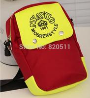 GO FASHION shoulder bag panelled chest messenger bag tide fluorescence rainproof silk packet wholesale