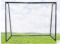 5 people steel pipe football goal 3*2 m black soccer ball goal floding goal including net christmas gift