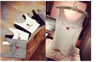Summer personality lipstick vest bottoming shirt 8201-B001-P13