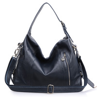Genuine leather women's handbag fashion new arrival hobo bags ,cow leather ladies shoulder bags 0468