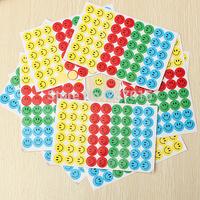 540pcs Children Smiley Faces Reward Stickers School Teacher Merit Praise Class