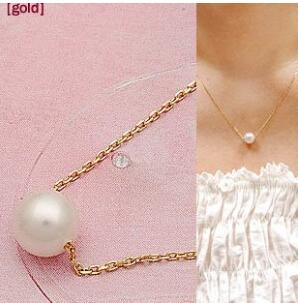 XL265 Korean jewelry simple imitation pearl necklace fashion temperament Short Free Shipping