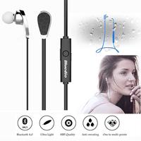 Bluedio N2 Bluetooth V4.1 Earphone HIFI In Ear Earbud Headphone Wireless Sports Stereo Headset Sweat Proof Muti-point Connection