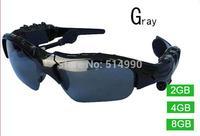 Black High Quality Stereo Bluetooth Headset Telephone Polarized Driving Sunglasses/mp3 Riding Eyes Glasses Genuine Free DropShip