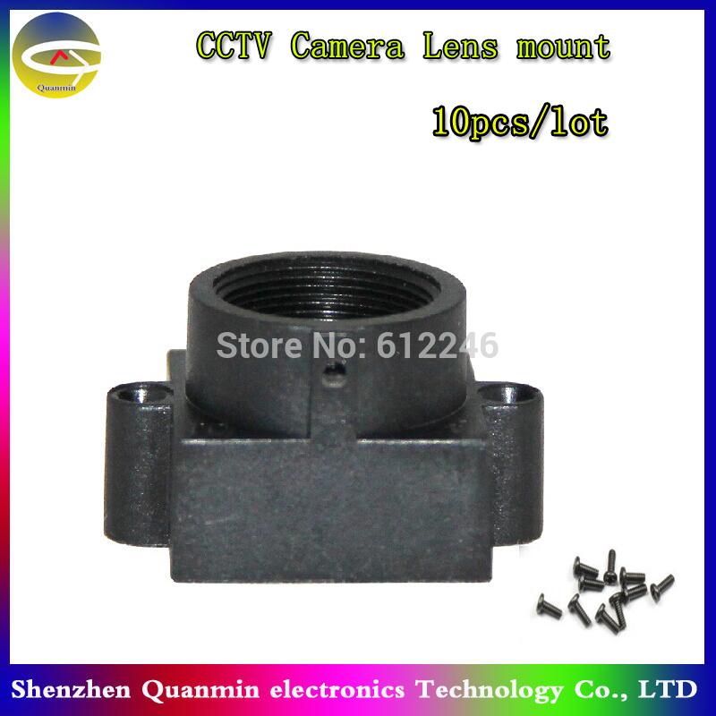 10pcs/lot M12 CCTV lens holder,M12*0.5 cctv lens mount use cctv camera module or IP camera module pcb,cctv board lens mount(China (Mainland))