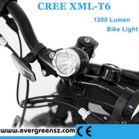 USB 5V CREE XM-L T6 1200 Lumen LED Bicycle Lamp Bike Light HeadLamp High/lowe/store 1T6-4