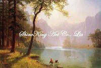 handpainted  landscape oil painting on canvas realistic  art  painting   Alb1052 60x90cm