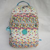 2014 Basic Kip Backpack Monkey Nylon Unisex Satchel Leisure Campus Backpack Women Travel Bag Large Bolsas Free Shipping