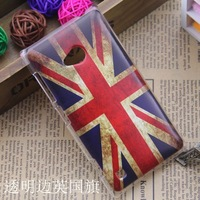 For Nokia Lumia 720 plastic cute cartoon case print drawings PC cover  + gift
