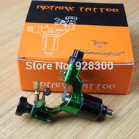 Top Selling Swiss Motor Rotary Tattoo Machine Gun Green Color for Tattoo Equipment Supply
