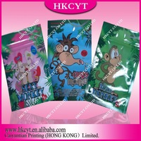 Wholesale Sexy monkey 4g/Crazy monkey 5g/Mad monkey 4g plastic packaging bags