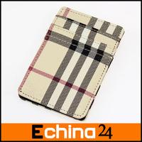2014 Fashion Decorative Pattern Grid Funny Magic Wallet Unisex Mini Card Holder 10*7cm Free Shipping