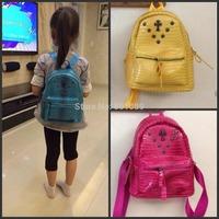 2014 New Arrival Hot Selling kid Backpack Light alligator Material Students School Bag Children Hiking Backapcks