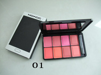 10pcs/lot wholesale new NO 3666 makeup 8 colors blush,6color option free shipping