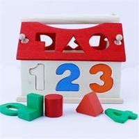 2014 New Educational DIY Toys for Children Digital Building House Blocks